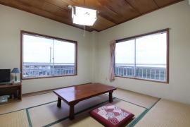 新潟県 上越市 柿崎 岩野屋旅館 和室8畳