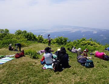 新潟県 上越市 柿崎 岩野屋旅館 米山登山