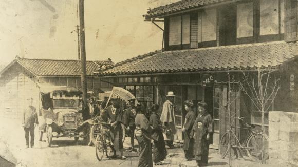 新潟県 上越市 柿崎 岩野屋旅館 創業当時の岩野屋